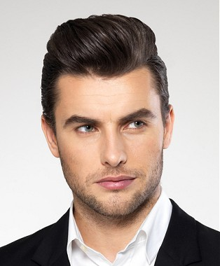 Peinados a la moda pelo corto para hombres con cresta - Peinados de hombres ...