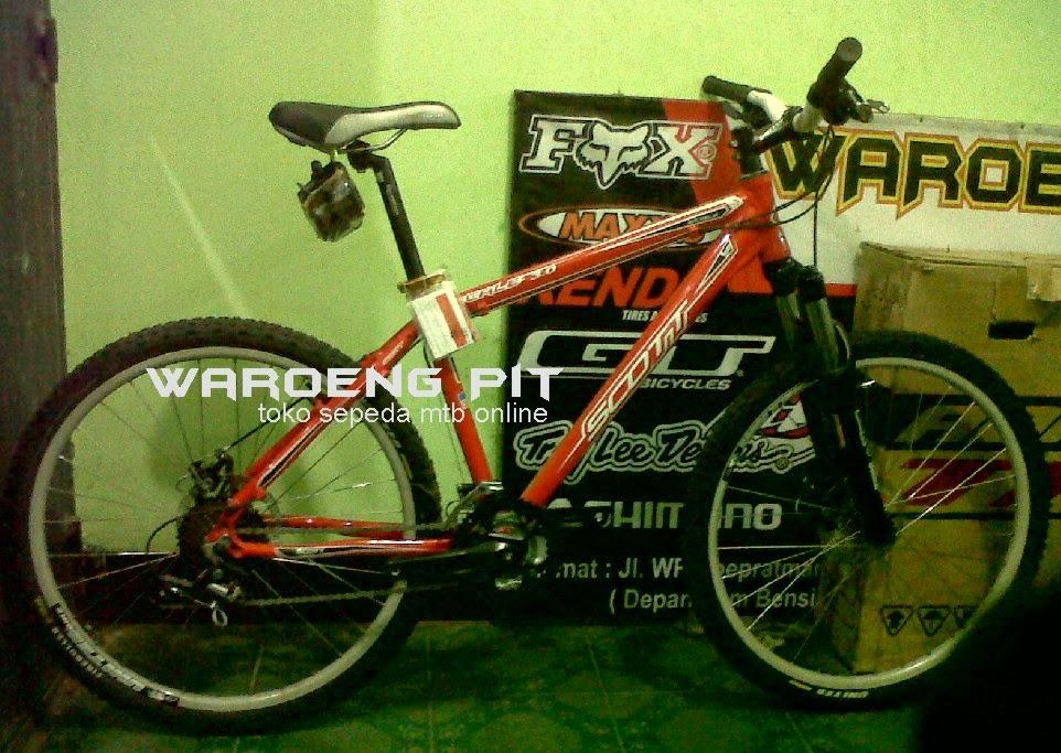 Jual sepeda gunung mtb mountain bike rakitan fullbike scott toko sepeda online waroengpit-1