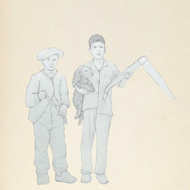 niños trabajadores,  industria navajera, Albacete, dibujo