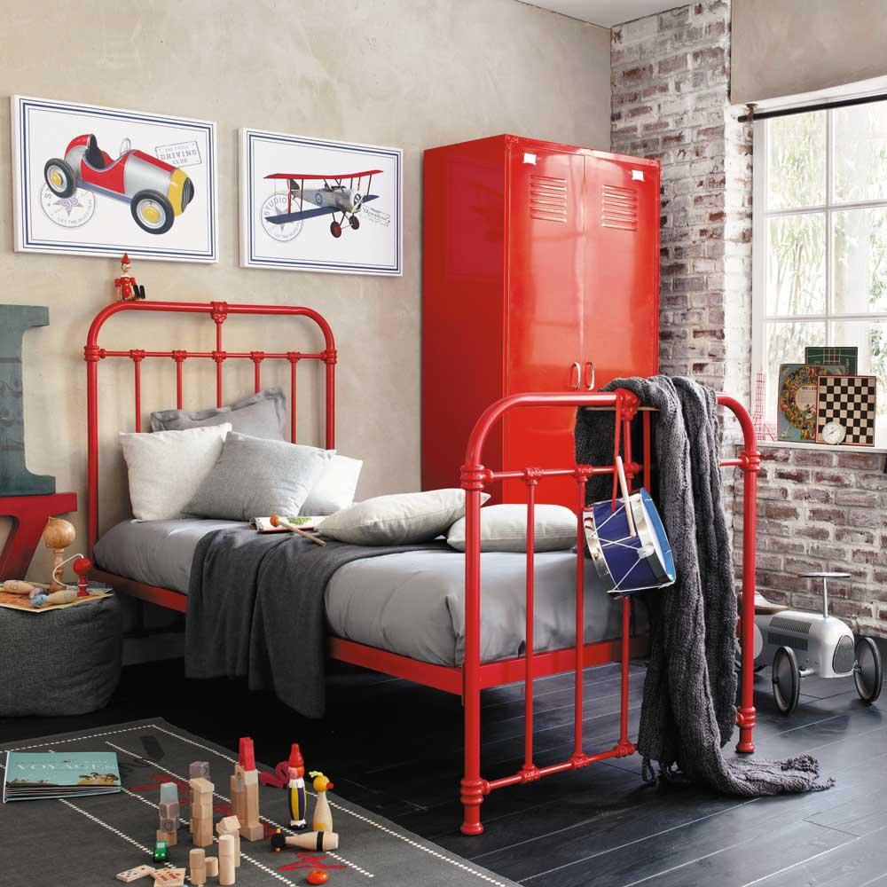 Chambre Ado Garcon Style Industriel