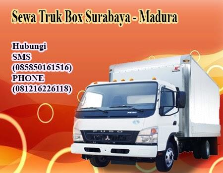 Sewa Truk Box Surabaya - Madura