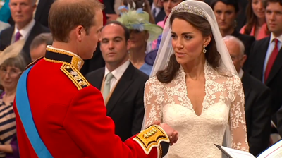 Catherine Middleton's wedding vows. YouTube 2011.