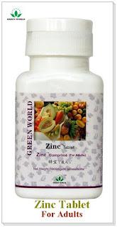 Zinc Tablet Untuk Orang Dewasa