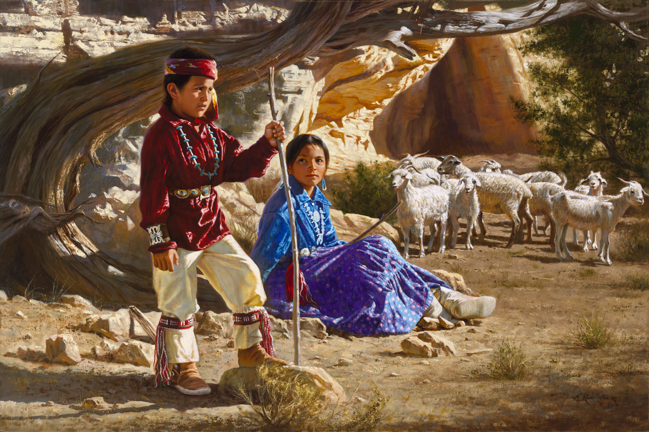 Bekannt Alfredo Rodriguez  peintures d'enfants ! SF69