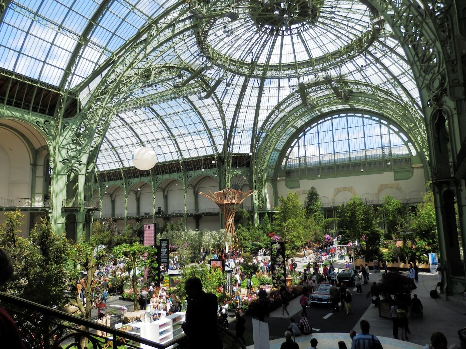 Dressing up in paris week 19 grand palais for Art du jardin grand palais