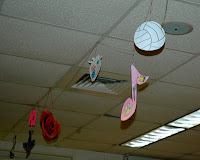 The Collage Mobile - Icebreaker ideas for back to school. From: http://www.traceeorman.com/2012/07/back-to-school-activities-to-inspire.html