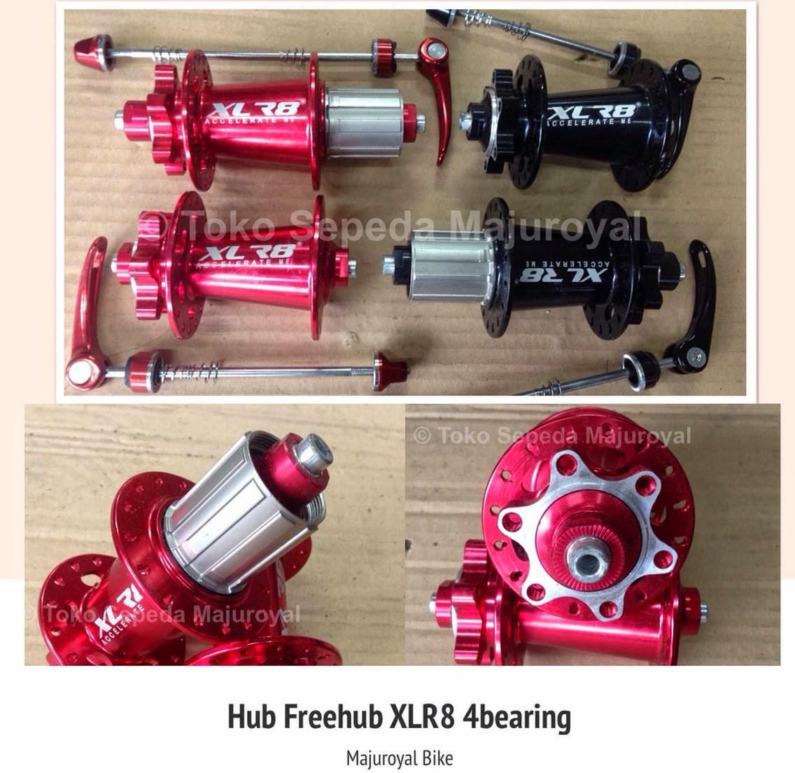 Hub Freehub XLR-8 4bearing Jangkrik