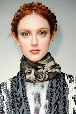Fall/Winter 2011-2012 Hairstyle Trends-Rachel Roy