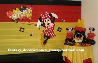 Children Parties, Minnie Mouse Decoration