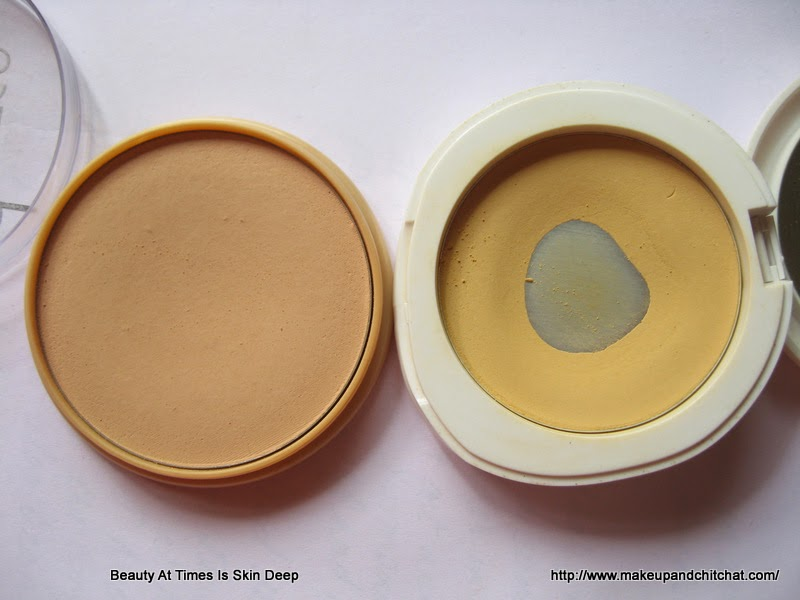 Comparison of Lakme Perfect Radiance Powder and Rimmel Stay Matte Powder
