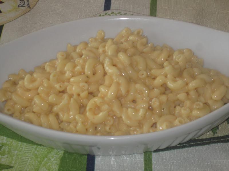 Cuisine chic et simple: Macaroni au fromage cremeux de linda