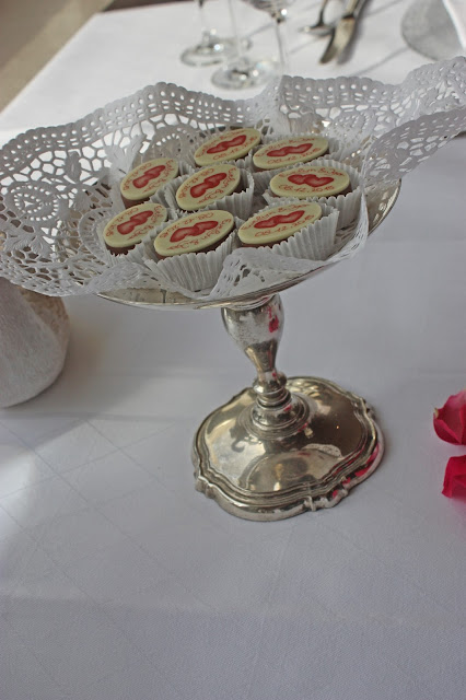Hochzeitspralinen von der Chocolaterie Amelie Garmisch-Partenkirchen