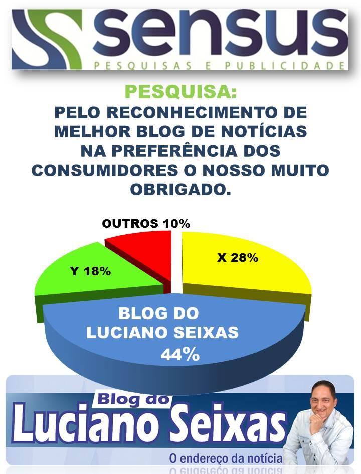 ELEITO PELA 3ª VEZ MELHOR BLOG NOTÍCIAS DA REGIÃO!