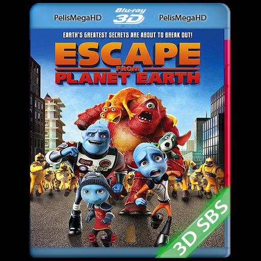 ESCAPE DEL PLANETA TIERRA (2013) 3D SBS 1080P HD MKV ESPAÑOL LATINO