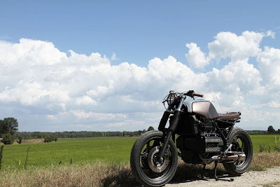 The Moto Sumisura ~  BMW K75 Tatanka Cafe Racer