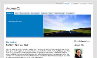 Andreas02 Blogger Template