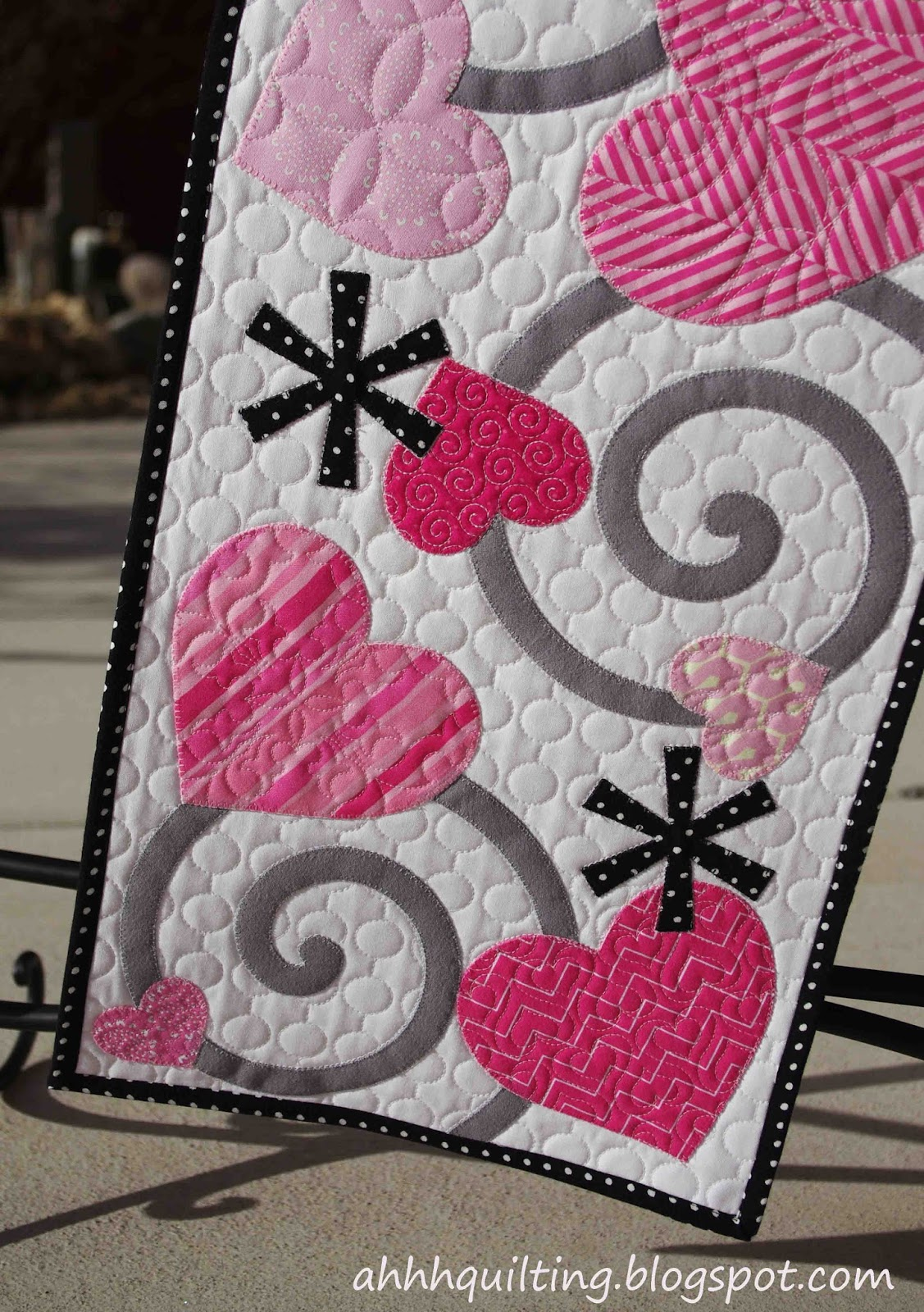 Ahhh...Quilting: Valentine s Table Runner Quilt
