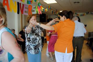 Festa d'aniversari, envelliment actiu i saludable