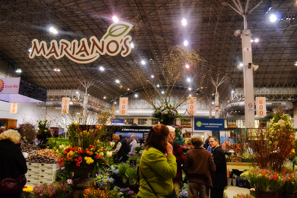 Mariano's at Chicago Flower Show