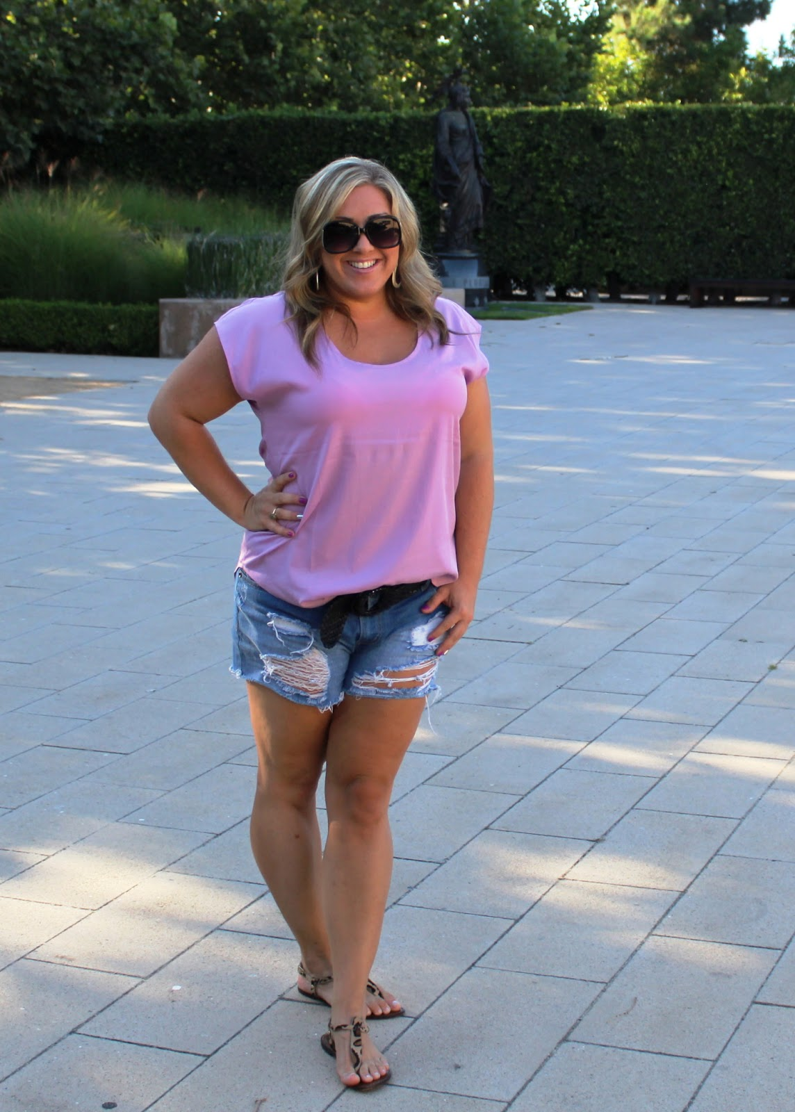 in the fashion lane: What I Wore: Lovely Lavender