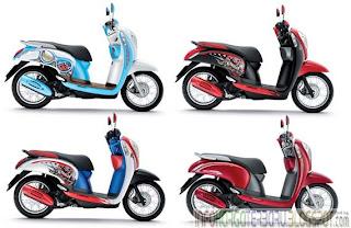 Harga Honda Scoopy i S12 Spesifiksai Motor Matic 2012