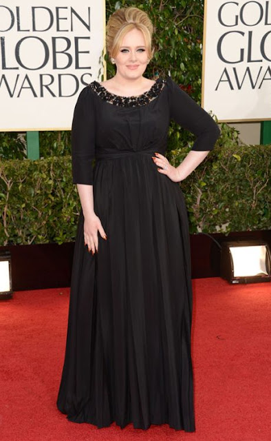 golden globes, 2013, adele burberry