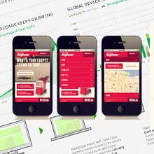 The Web Goes Mobile - Infographics @ Web Designer Pad