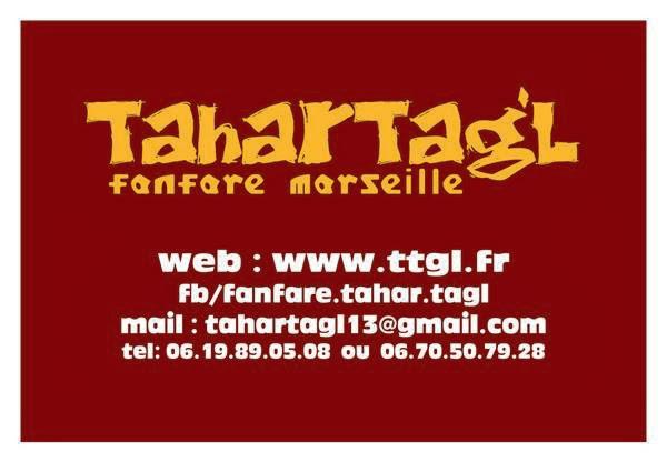 Contacter la fanfare de Marseille Tahar Tag'l !