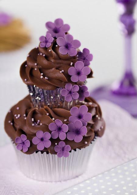 Cupcakes de alta costura de Patricia Arribálzaga