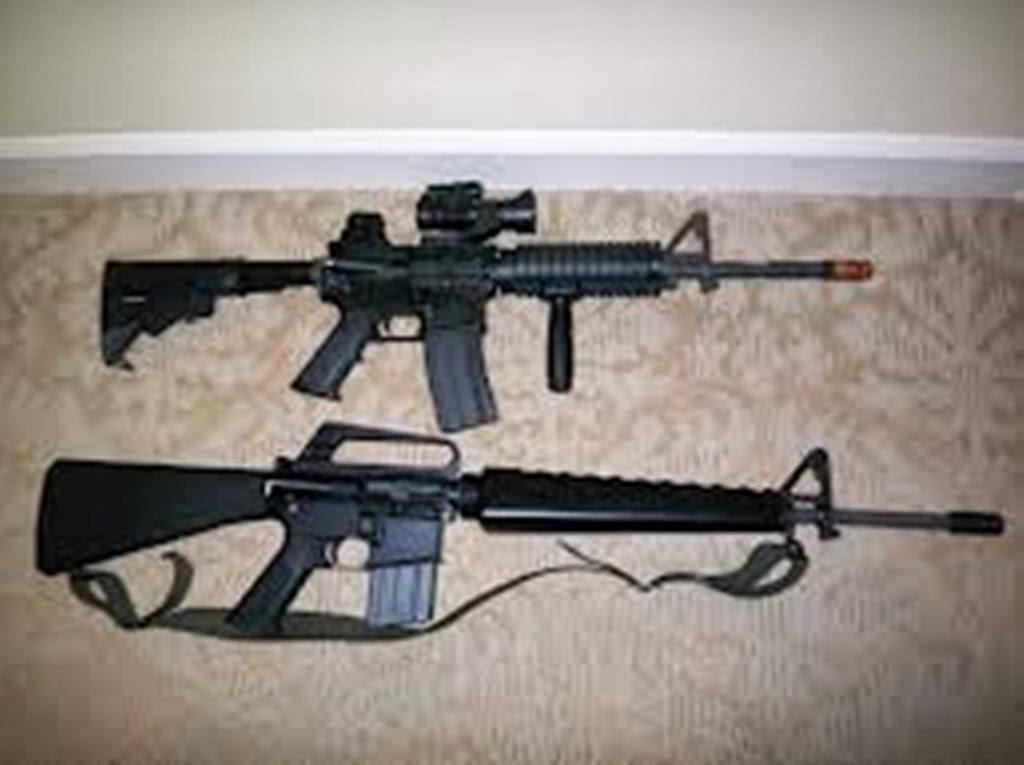 m16 gun wallpaper desktop - photo #22