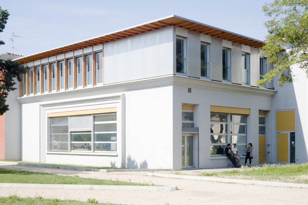 coo architectes extension du lyc e lepap