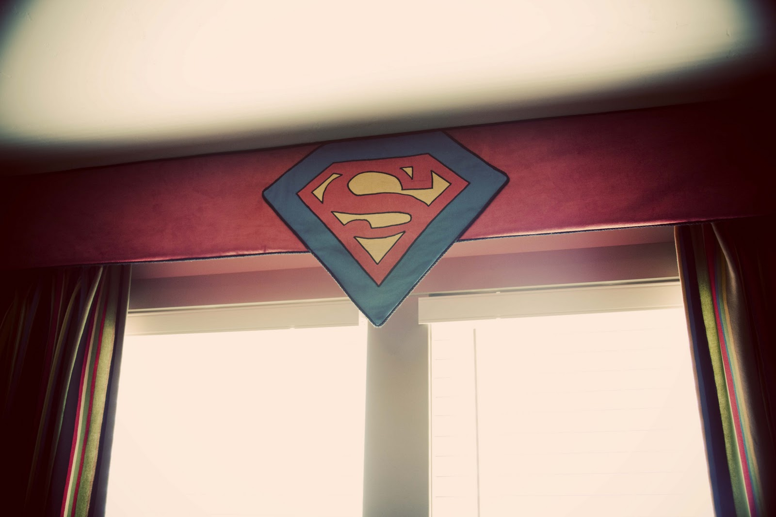 Coordinating Superman Valance