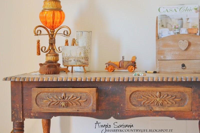 La scrivania vintage