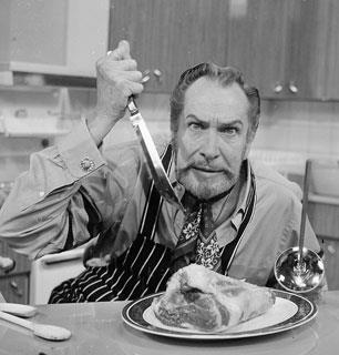 El cuchillo de Vincent Price