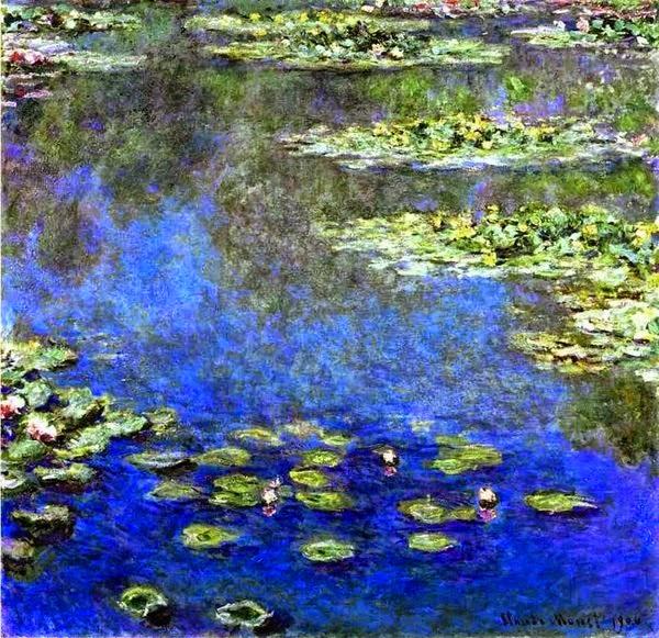 Клод Моне Водяные лилии. 1906 Sotheby's. 2002