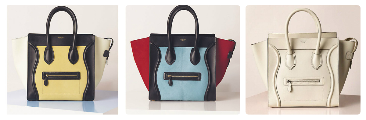 celine micro vs mini - My Small Obsessions: CELINE Bags for Spring/Summer 2013