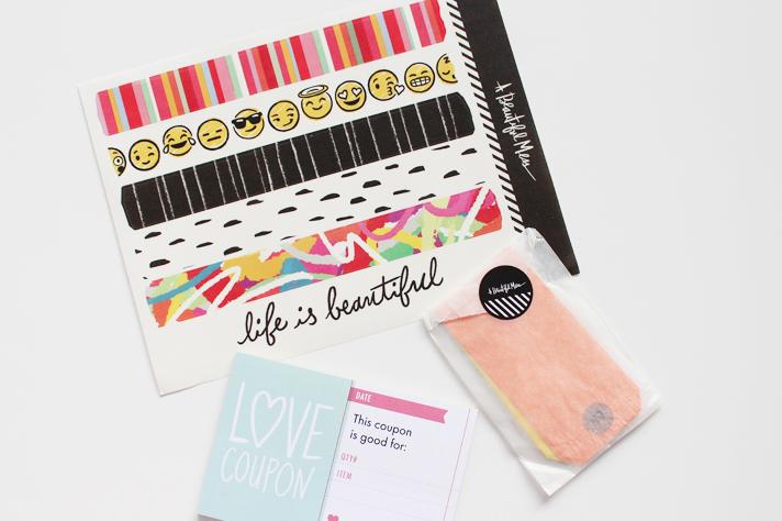 A BEAUTIFUL MESS   Happy Mail January '15 - CassandraMyee