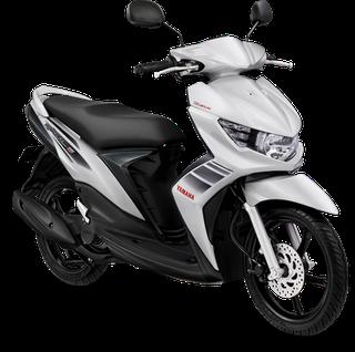 terbaru modifikasi motor mio soul gt warna putih