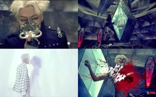 100% horror-like MV teaser released for 'Heart Beats'