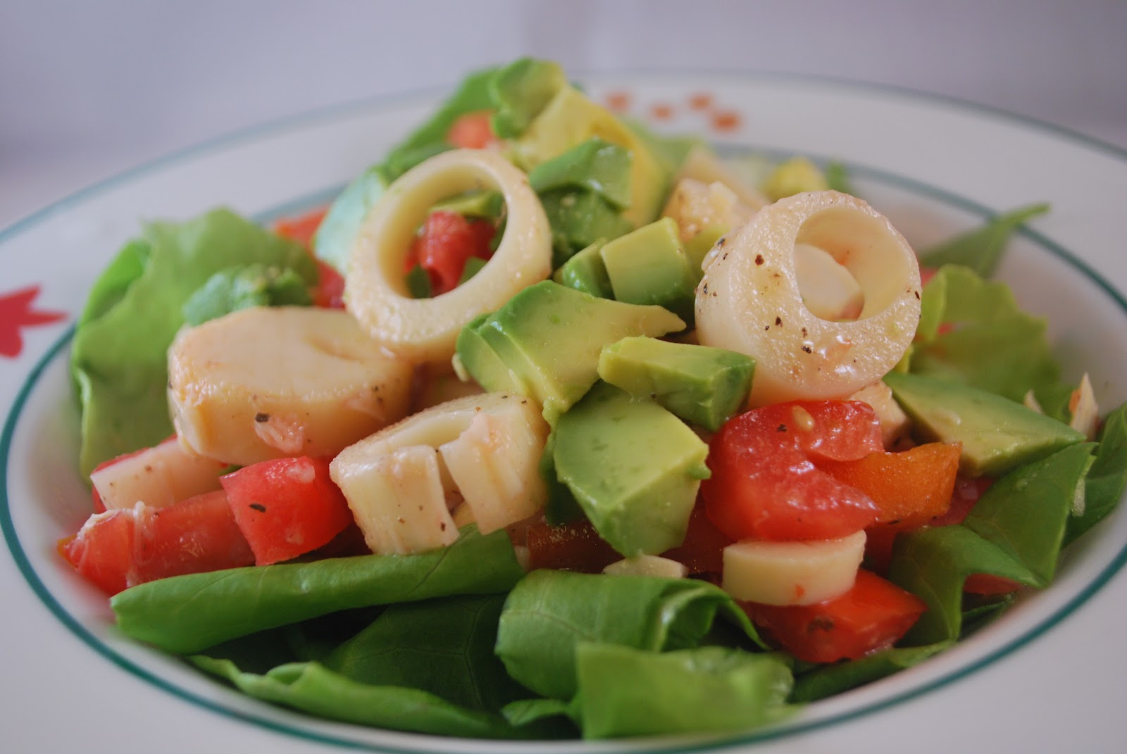 Hearts Of Palm Salad Recipe — Dishmaps