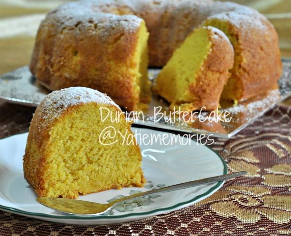 Sinar Kehidupanku Durian Butter Cake