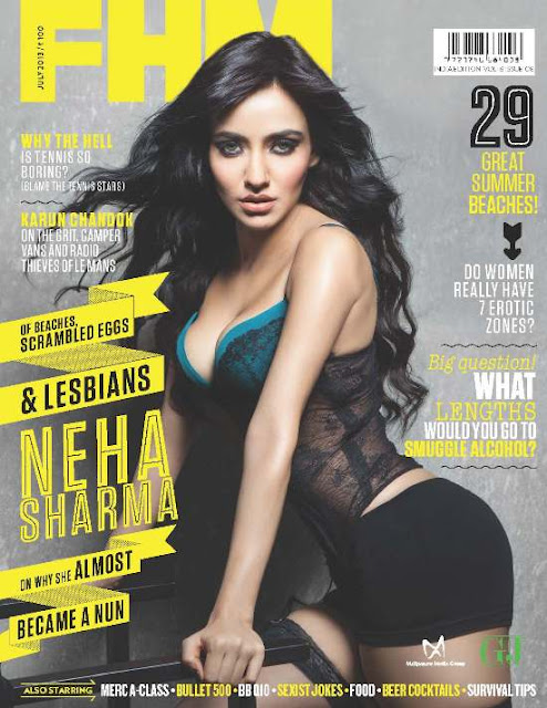 Neha Sharma in Tiny Hot Shorts