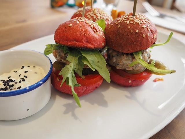 Flax & Kale - kleine Fischburger