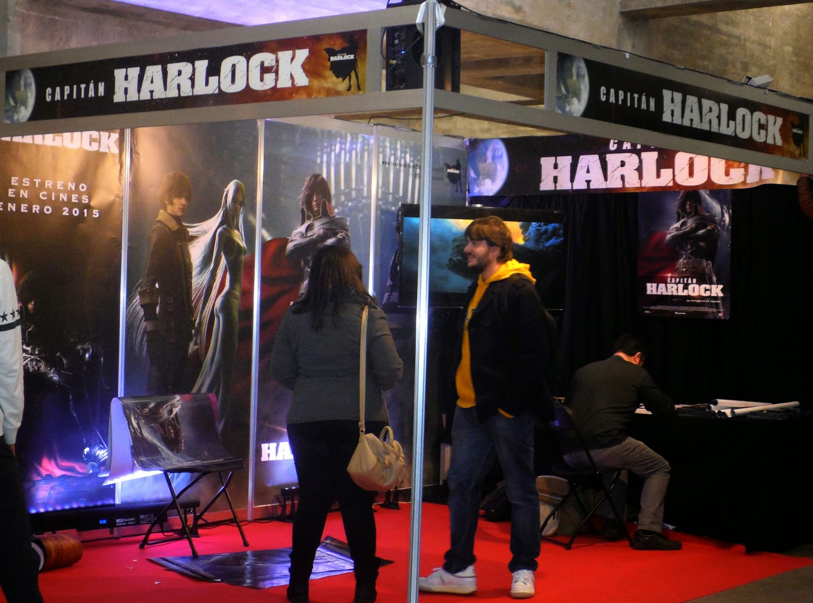 capitan harlock expocomic 2014