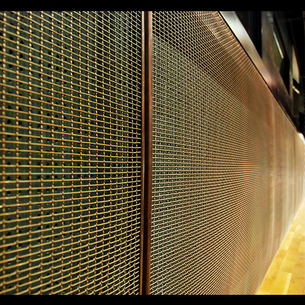 Metallic Wall Paneling : Decorative metal wall panels