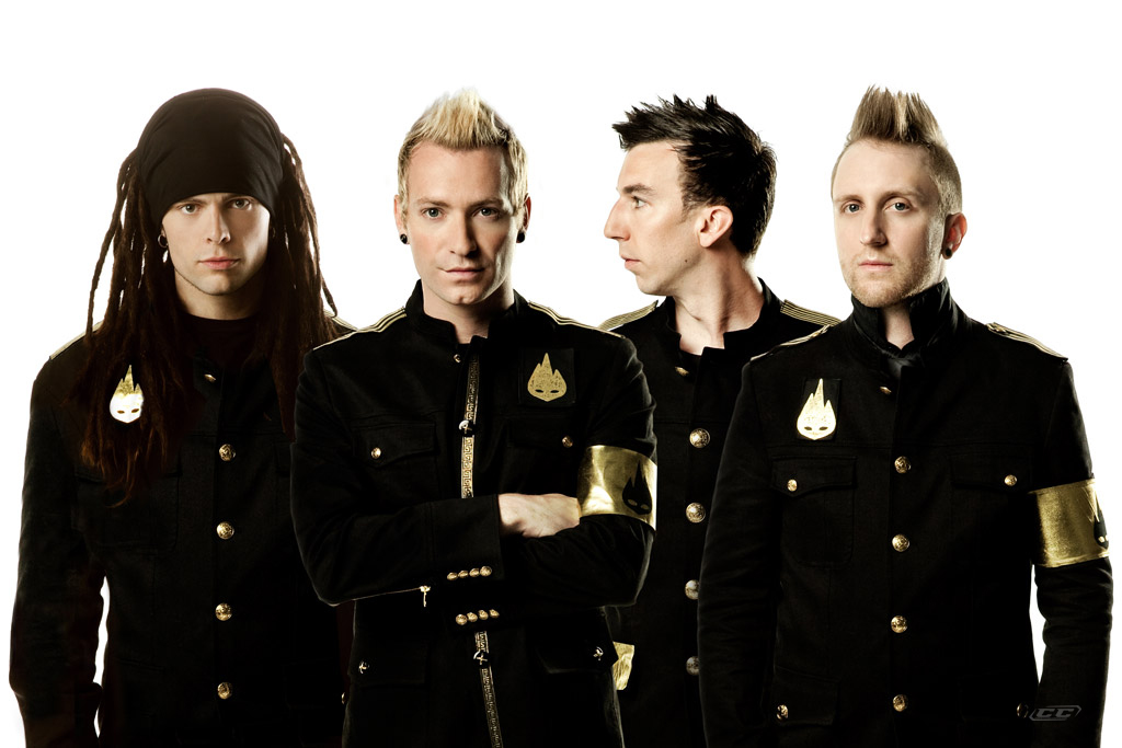 Thousand Foot Krutch - Metamorphosiz II The End Remixes Vol. 2 2013 Band Members