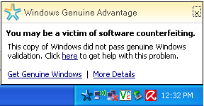 remove Windows Genuine Notification without validation