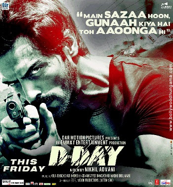 D Day (2013) DVDRip HDRip [DDR] Full Movie Watch Online