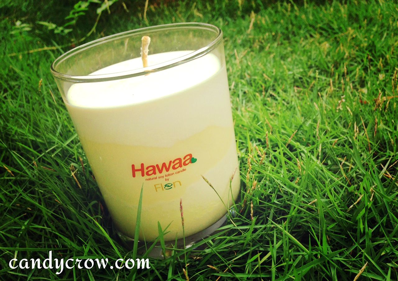 Hawaa - Natural Soy Lotion Candles Review
