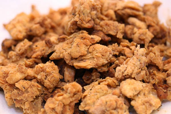 Fried Freeze Dried Chicken